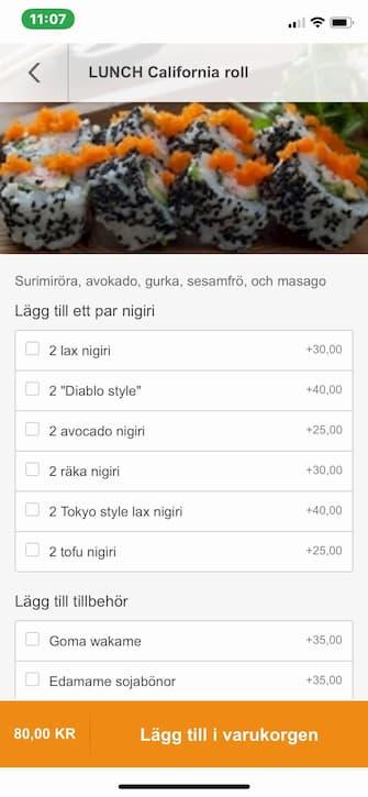 Onlinebeställning för Restaurang